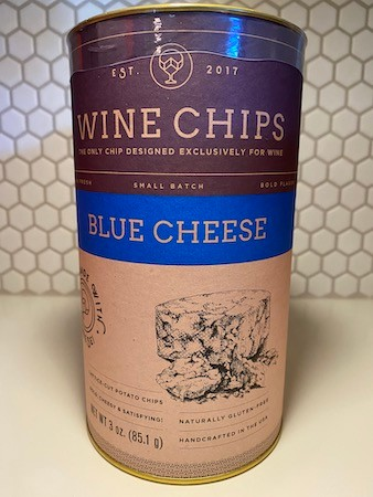 Blue Ch. Wine Chips