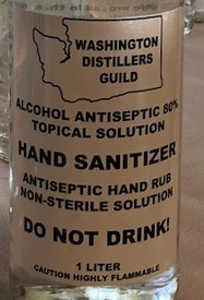 1 L Sanitizer-Unable to Ship