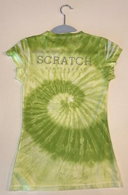 Ladies CD Tie-Dye V neck, L Image